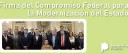 El pasado 18 de abril en el Salón Blanco de Casa Rosada